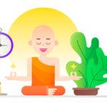 Техника дзен-медитации: история, монах Доген, приложение Plum Village (30 неделя)